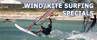 WIND/KITESURFING SPECIALS