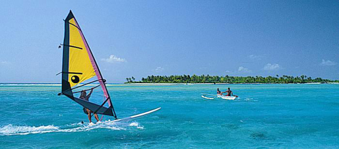 Windsurfing : Tahiti : Intro 10